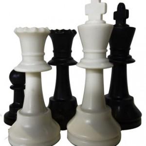 Pièces échecs T5 plombées feutrées