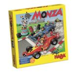 Monza, Par Jürgen P.K. Grunau , illustré par Haralds Klavinius, Édité par Haba , distribué par Haba.