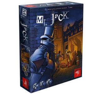 Mr Jack seconde édition chez Robin des je