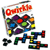QWIRKLE, Par Susan McKinley Ross, Édité par Iello , distribué par Iello.