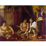 Puzzle Michele Wilson - femmes d'Alger pf - Delacroix chez Robin des Jeux Paris