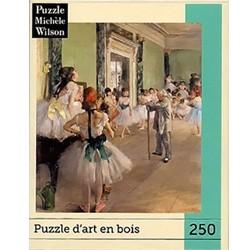 Puzzle Michèle Wilson La classe de danse DEGAS chez Robin des Jeux