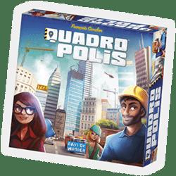Quadro Polis à Paris chez Robin des Jeux