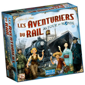Les Aventuriers du Rail chez Robin des Jeux