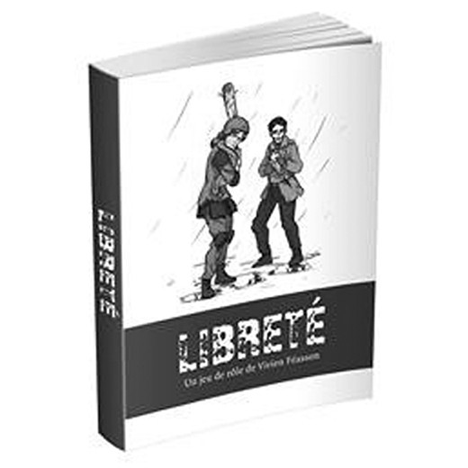 LIBRETÉ livre de base chez Robin des Jeux Paris