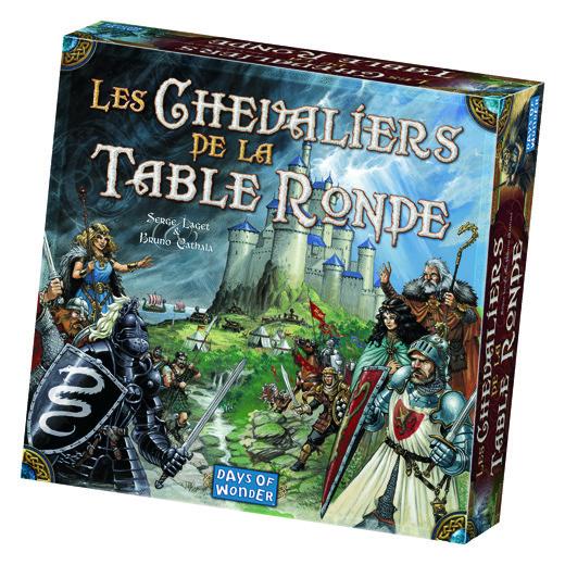 Les Chevaliers de la table ronde chez Robin des Jeux