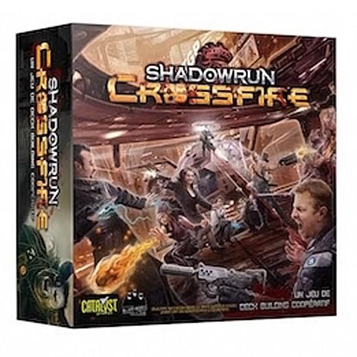 Shadowrun Crossfire VF chez Robin des Jeux Paris