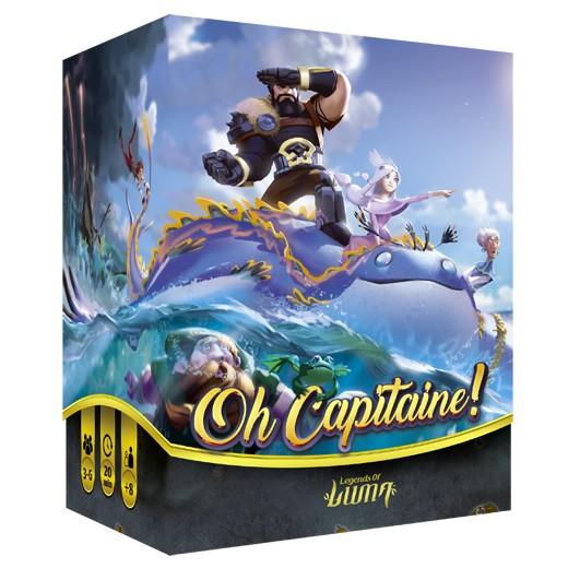 Oh Capitaine chez Robin des Jeux Paris