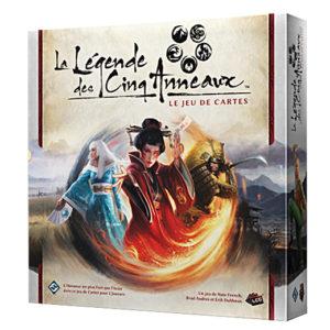 La légende des 5 anneaux Le jeu de cartes chez Robin des Jeux Paris