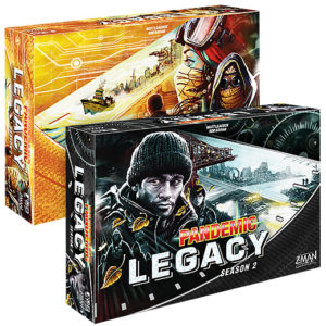 Pandémic Legacy Saison 2 chez Robin des Jeux Paris