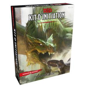 Dungeons & Dragons Kit d'initiation VF chez Robin des jeux Paris