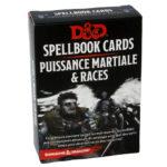 Dungeons & Dragons Spellcards PUISSANCE MARTIALE & RACES VF chez Robin des Jeux Paris