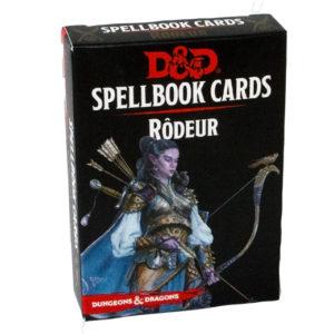 Dungeons & Dragons Spellcards RÔDEUR VF chez Robin des Jeux Paris