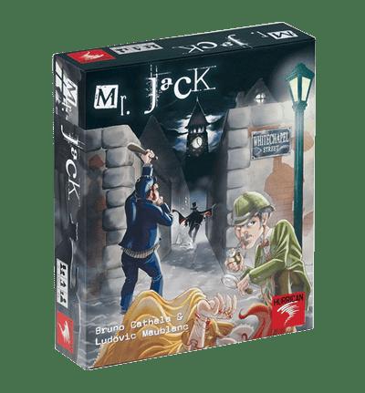 Mr. Jack, Par Bruno Cathala et Ludovic Maublanc , illustré par Piérô La lune, Édité par Hurrican , distribué par Asmodée.