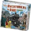 aventuriers du rail, Par Alan R. Moon , illustré par Julien Delval, Édité par Days of Wonder , distribué par Asmodée.
