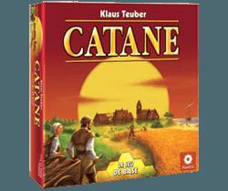 catane, Par Klaus Teuber , illustré par Michael Menzel, Édité par Filosofia , distribué par Asmodée.