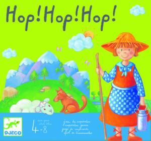 hop hop hop, Par Monica san cristobal, Édité par Djeco , distribué par Djeco.