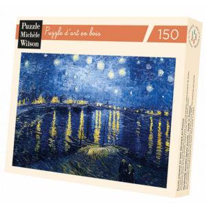 Puzzle Michele Wilson - Nuit étoilée sur le Rhône - VAN GOGH chez Robin des Jeux Paris