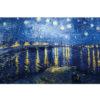 Puzzle Michele Wilson - Nuit étoilée sur le Rhône pf - VAN GOGH chez Robin des Jeux Paris