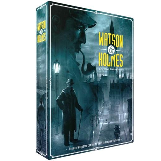 Acheter Watson & Holmes à Paris chez Robin des Jeux
