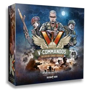 V-Commandos chez Robin des Jeux à Paris