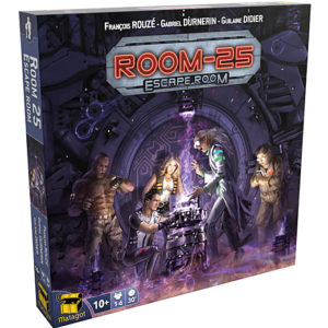 ROOM 25 ESCAPE ROOM chez Robin des Jeux Paris