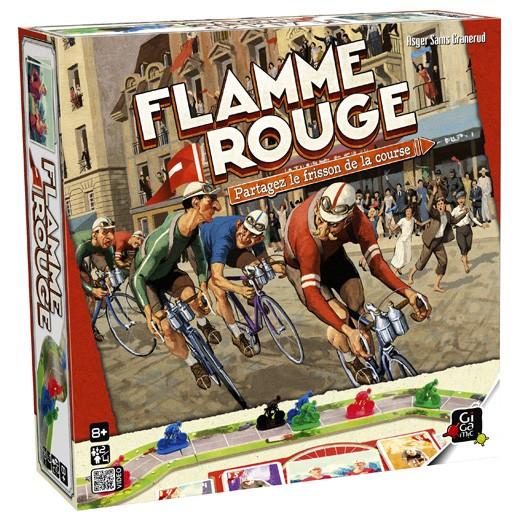 Flamme rouge chez Robin des Jeux Paris
