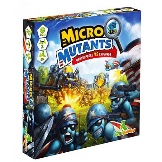 Micro Mutants chez Robin des Jeux Paris