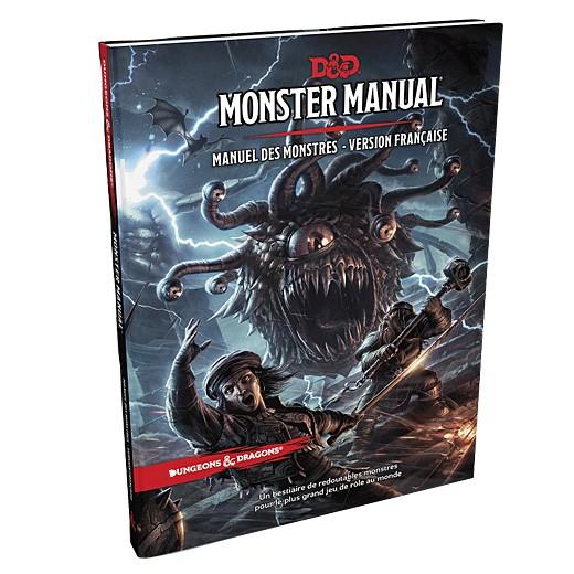 Dungeons & Dragons Monster manual - Manuel des monstres version française chez Robin des Jeux Paris