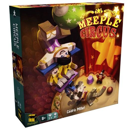 Meeple Circus chez Robin des Jeux Paris