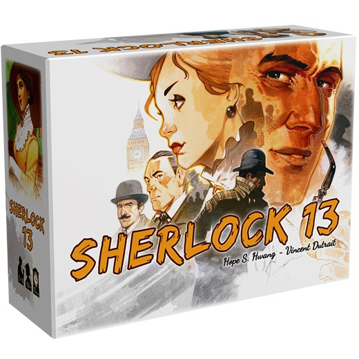 Sherlock 13 chez Robin des Jeux Paris