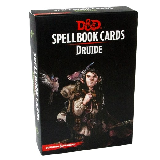 Dungeons & Dragons Spellcards DRUIDE VF chez Robin des Jeux Paris