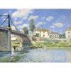 Puzzle Michele Wilson - Le pont à Villeneuve pf - SISLEY chez Robin des Jeux Paris