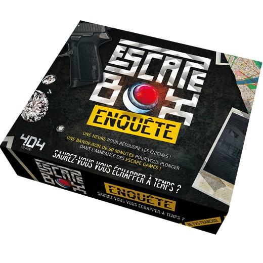 Escape Box Enquête chez Robin des Jeux Paris