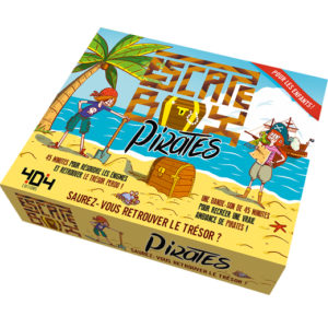 Escape Box Pirates chez Robin des Jeux Paris