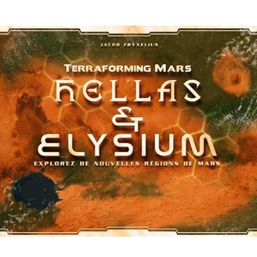 Terraforming Mars HELLAS & ELYSIUM chez Robin des Jeux Paris