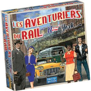 Les Aventuriers du Rail New York chez Robin des Jeux Paris
