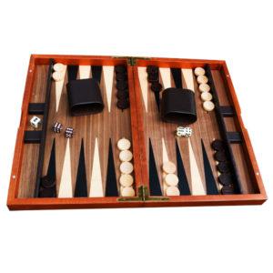Backgammon bois ouvert chez Robin des Jeux Paris