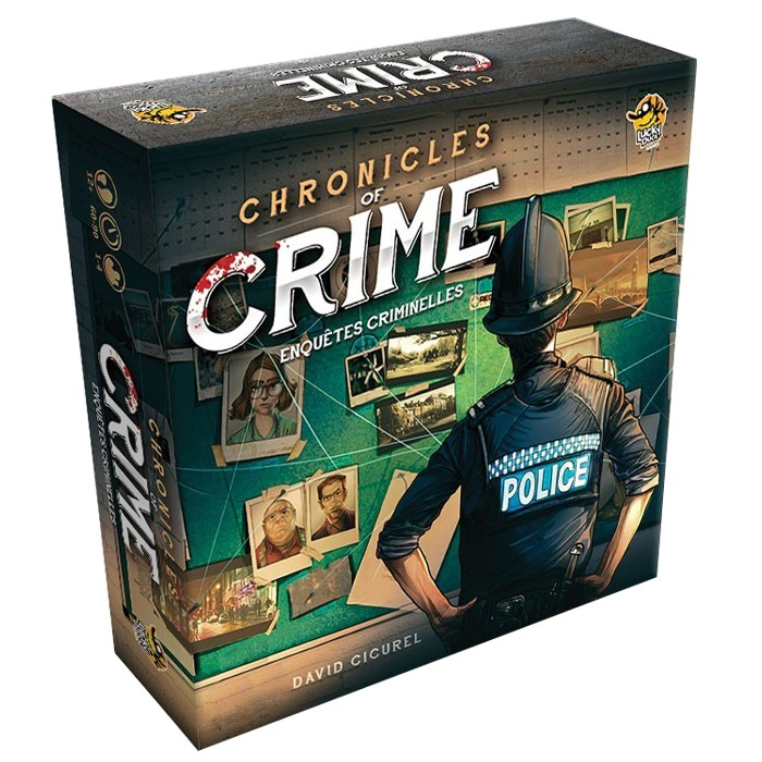 Chronicles of crime chez Robin des Jeux Paris