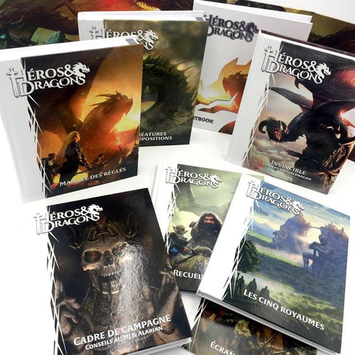 Héros & Dragons offre complète chez Robin des Jeux Paris