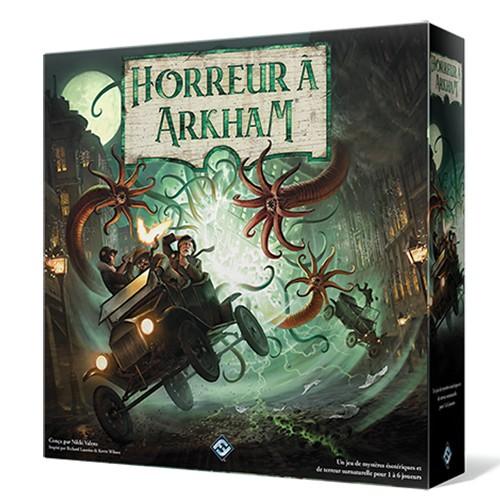 Horreur à Arkham 3ème édition chez Robin des Jeux Paris