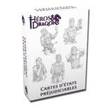 Héros & Dragons cartes d'états préjudiciables chez Robin des Jeux Paris