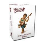 Héros & Dragons cartes de sorts Barde chez Robin des Jeux Paris