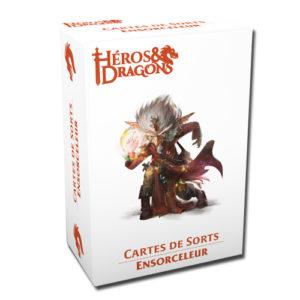 Héros & Dragons cartes de sorts Ensorceleur chez Robin des Jeux Paris