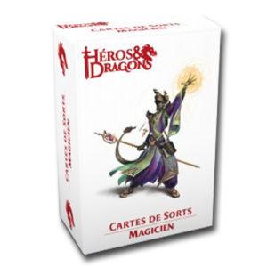 Héros & Dragons cartes de sort Magicien chez Robin des Jeux Paris