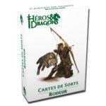 Héros & Dragons cartes de sorts Rodeur chez Robin des Jeux Paris
