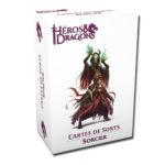 Héros & Dragons cartes de sorts Sorcier chez Robin des Jeux Paris