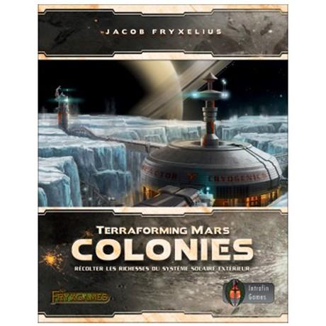 Terraforming Mars Colonies chez Robin des Jeux Paris