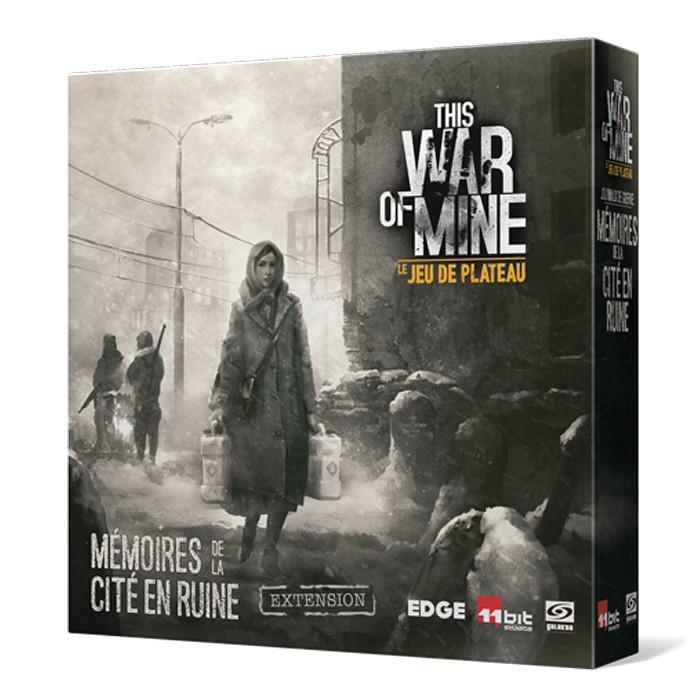 This war of mine Journaux de guerre mémoires de la cité en ruine chez Robin des Jeux Paris