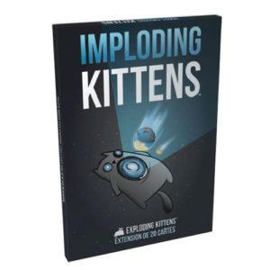 Acheter Imploding Kittens à Paris chez Robin des Jeux.